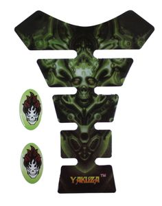 Yakuza Skull Design Tank Protector Pad