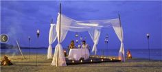 No dream is unreachable at Sandals Whitehouse Jamaica, where the beauty of nature becomes even more romantic with some perfectly placed accessories at a sunset wedding on the beach. Mitch - Island Travel 847-885-7540 See at http://www.romanticallinclusiveresorts.com/sandals_whitehouse.html