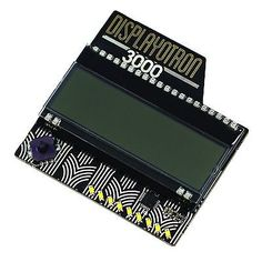 #Display-o-tron 3000 for #raspberry pi 16 x 3 #screen 5 action buttons,  View more on the LINK: http://www.zeppy.io/product/gb/2/191904744607/