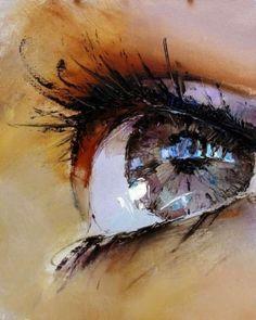 Impressionistic Iris Illustrations