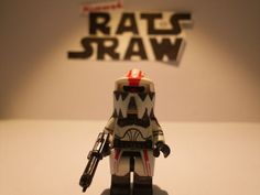 Lego Star Wars minifigures - Clone Custom Corusant ARF 'Hound'