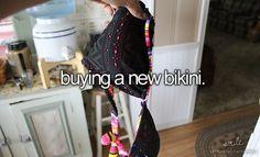 Buying a new bikini