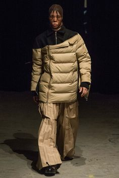 """Bank Robber"" fashion just isn't an attractive look... Hood by Air - Fall 2015 Ready-to-Wear"
