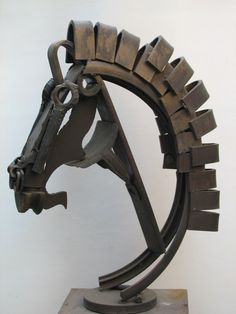 welding horse   study of horse head the various