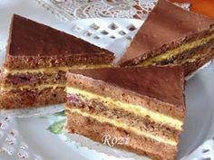 Rozi Erdélyi konyhája: Királyfi szelet Hungarian Desserts, Hungarian Recipes, Sweet Cookies, Cake Cookies, Cookie Recipes, Dessert Recipes, Just Eat It, Sweet And Salty, Bakery