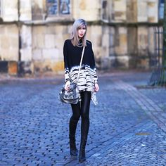 Jana Wind - Religion Blouse, Guess? Bag, Asos Leggings, Asos Boots - Batik religion