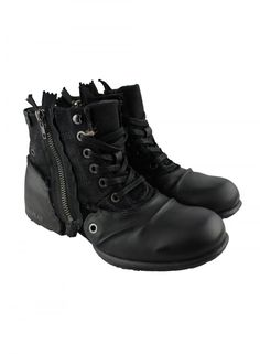 REPLAY Replay Mens Black Boots - REPLAY from Ghia Menswear UK