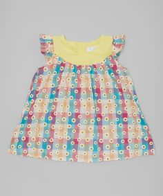 Another great find on #zulily! Pink & Blue Plaid Top - Toddler & Girls #zulilyfinds