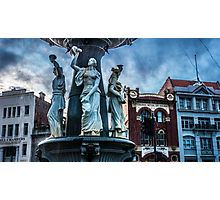 The Alexandra Fountain in Bendigo, Victoria Photographic Print