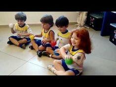 Aula de Musica - Infantil I M - YouTube Activities For Kindergarten Children, Indoor Activities For Kids, Kids Learning Activities, Pe Lessons, Music Lessons, Physical Education Lessons, Kids Education, Zumba Kids, Montessori Practical Life