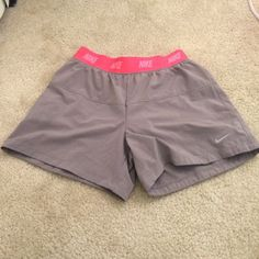 sale  Nike running shorts Nike running shorts. Says large, but fits more like a small. Neve wore, brand new. Nike Shorts