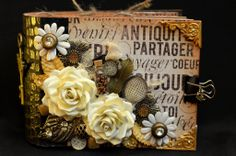 Gorgeous mini using Prima's Cartographer line.