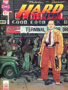 "Frank Miller (storia) & Geoff Darrow (disegni) ""Hard Boiled"" _ Granata Press, 1992"