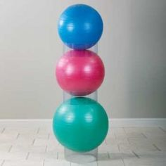 Exercise Ball Storage Stackers