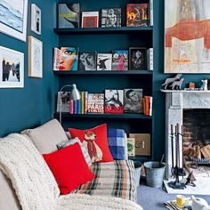 Living room | Be inspired by an eclectic Victorian flat in north London | housetohome.co.uk