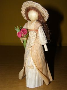 Lány virággal 4.