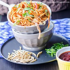 Blogging Marathon #65 Week 4 Day 3        Theme:  One Sauce, Two dishes    Dish:  Chinese Bhel   Today is the last day of the Blogging Mar...