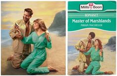 Recreated Mills & Boon cover, Alex Holder