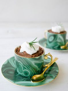 Claire Thomas's Rosemary Chocolate Mousse