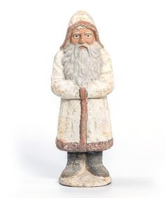 Add some traditional German charm to your home with this festive Belsnickle figurine. Santa Figurines, Classic House, Home Goods, Traditional, Antiques, Festive, Antiquities, Antique, Old Stuff