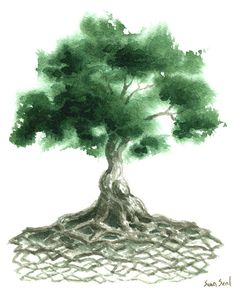 Celtic Tree Of Life Painting by Sean Seal - Celtic Tree Of Life Fine Art Prints and Posters for Sale