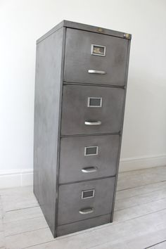 Metal File Cabinets - Industrial Office / Vintage Industrial Furniture - Filing  Cabinets | Industrial, Furniture and Cabinets