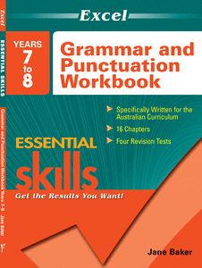 Specifically written for the Australian Curriculum English course, this book will improve students' writing by teaching the essential grammar and punctuation rules for Years 7–8.
