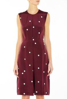 Evening Dress Box Pleat Dress by Sophie Hulme
