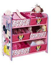 Minnie 6 Bin Toy Storage