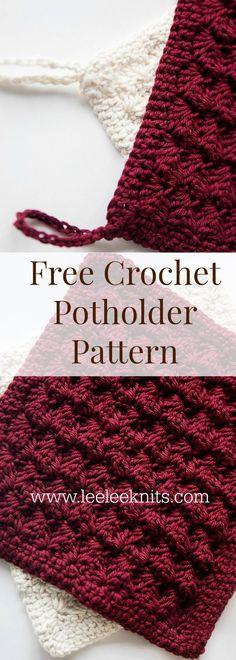 Decorative Potholder Crochet Pattern