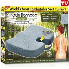 seat and posture cushions: orthopedic seat cushion back pain