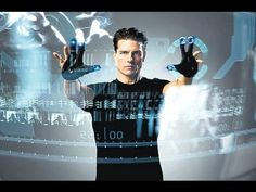 'Minority Report software' becomes real Sci Fi Short Stories, Minority Report, Best Action Movies, 2015 Movies, Feature Film, New Technology, On Set, Business Women, Science Fiction