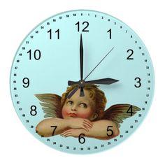 Vintage Angel Clocks
