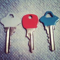 DIY: Nail Polish & House Keys Facelift Project