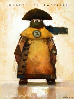 Diego and the Steam Pirates - Armand Baltazar  #Steampunk #Dieselpunk #Fantasy