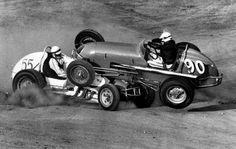 Ascot Speedway | Gardena, CA | Midgets | 1960 http://perrisautospeedway.com #autospeedway #speedway #attractions
