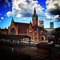 Dworzec główny w Gdansku