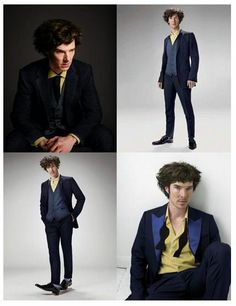Um... Cowboy Beebop cosplay by none other than BENEDICT CUMBERBATCH. rawr.