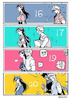 Read from the story Recopilacion de imagenes, momazos y demas cosas de JJBA 1 by YautjaBoy with reads. Jojo's Bizarre Adventure Anime, Jojo Bizzare Adventure, Jojo Anime, Anime Love, Comic Anime, Manga Anime, Jojo's Adventure, Jojo Memes, Fan Art