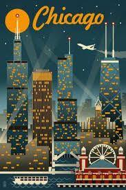 Resultado de imagen para poster de la ciudad de chicago