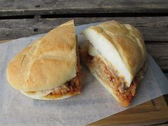 campanelli meatball sandwich montreal © Will Travel for Food