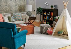 Family Friendly - Transform your family room into a welcoming retreat with these classic designs