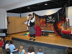 A pirate visit, summer 2007.