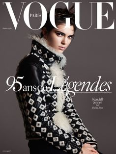 Vogue Paris October 2015 Cover
