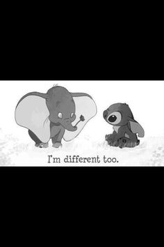 Stich and Dumbo