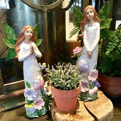 Things seem to flourish and thrive when the Gardner Village fairies come back.