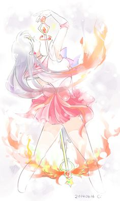 Sailor Mars ごちゃまぜ by moi on pixiv
