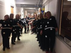 Falling Dominoes | 31 Amazing Teacher Halloween Costumes