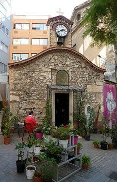 Aghia Kyriaki church - Athinas St, Athens, Greece   Flickr - Photo by Bagolina