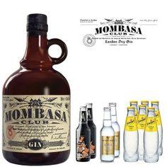 Uhm... Mombasa Gin Tonic Pack con tónicas Abbondio, Fever Tree y Schweppes junto con dos naranjas frescas, tres ramas de canela y unos snacks dulces y salados. Qué no te falte de nada!